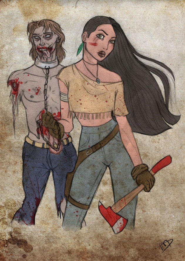 disney-thewalkingdead-johnsmith-pocahontas-630x891