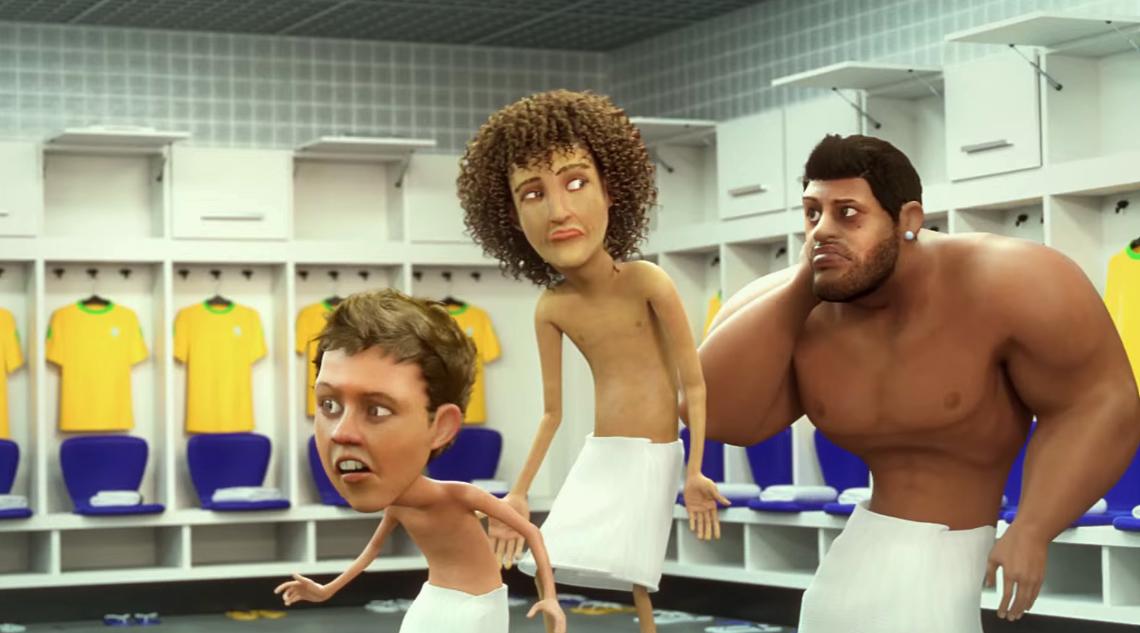 Seleção Brasileira protagoniza animação em campanha da Vivo a35998eaca4be