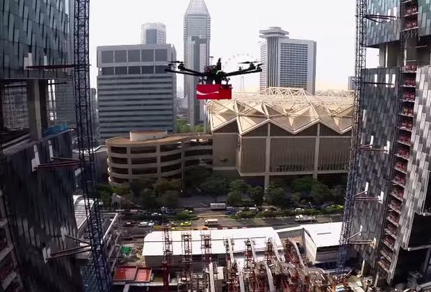 Coca-Cola-Drones